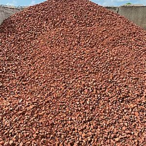 Brick chips ready for delivery in Smithfield, Garner, Clayton NC
